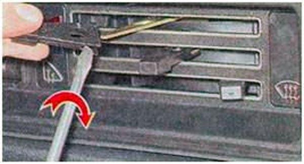 Рычажки вентиляции салона ВАЗ 2107