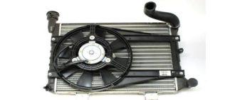 узнаете где находится реле вентилятора охлаждения на ВАЗ 2107